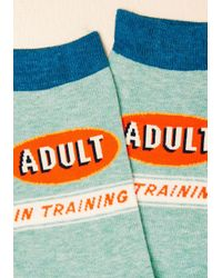 ModCloth - Blue Calming Of Age Socks for Men - Lyst