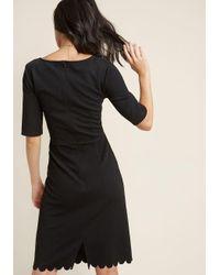 Sugarhill - Black Absolutely Audrey Sheath Dress - Lyst