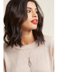 ModCloth - Multicolor Double Deco Necklace - Lyst