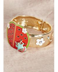 Irregular Choice - Multicolor Slice Of Sweetness Bracelet - Lyst