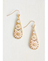 Ana Accessories Inc - Metallic People, Graces, Things Earrings In Blush - Lyst