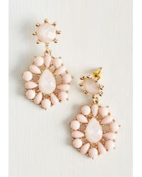 Ana Accessories Inc - Pink Graceful Staple Earrings - Lyst