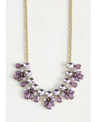 Ana Accessories Inc | Glimmer Is Coming Necklace In Purple | Lyst