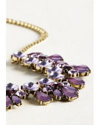Ana Accessories Inc | Metallic Glimmer Is Coming Necklace In Purple | Lyst
