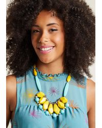 ModCloth - Multicolor Ever So Eclectic Necklace - Lyst