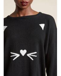 Sugarhill - Black Speak In Whiskers Sweater - Lyst