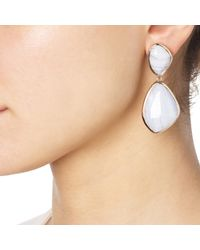 Monica Vinader | Blue Siren Cocktail Earrings | Lyst