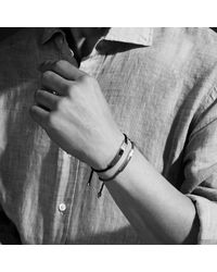 Monica Vinader - Gray Linear Men's Friendship Bracelet for Men - Lyst