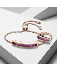 Monica Vinader - Purple Baja Bracelet - Lyst