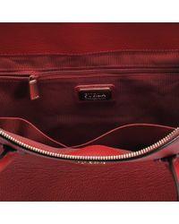 Furla - Red Pin L Satchel Bag - Lyst