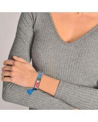 Shourouk - Blue Love Happy Bracelet - Lyst