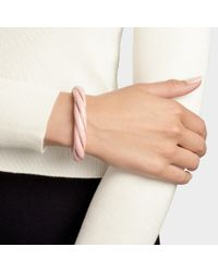Aurelie Bidermann - Multicolor Diana Twisted Bracelet In Pink - Lyst