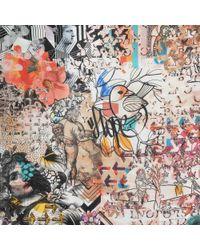 Christian Lacroix - Multicolor Cadavre Exquis Shawl - Lyst