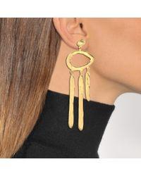 Aurelie Bidermann - Metallic Melina Pendant Earrings - Lyst