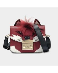 Furla - Multicolor Metropolis Jungle Mini Crossbody Bag In Toni Brown And Ares Leather - Lyst