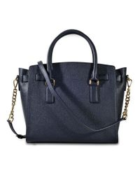MICHAEL Michael Kors Blue Hamilton Large Ew Satchel Bag