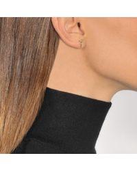 Aurelie Bidermann - Metallic Fine Jewellery - 18k Key Single Earring With Diamond - Lyst
