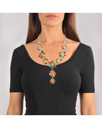 Sylvia Toledano - Multicolor Happy Flower Necklace - Lyst