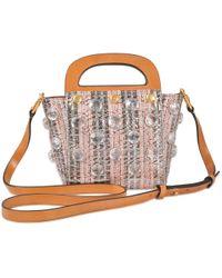 Tory Burch - Multicolor Jacquard Small Bermuda Bag - Lyst