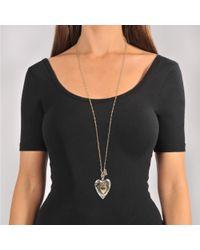 Alexander McQueen - Multicolor Heart Necklace - Lyst