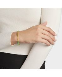 Aurelie Bidermann - Multicolor Soho Bracelet In Green - Lyst