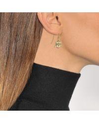 Aurelie Bidermann - Metallic Lilly Of The Valley Earrings - Lyst