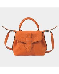 Lancel - Orange Nano Charlie Bag - Lyst