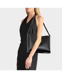 Sophie Hulme - The Pinch Medium Shoulder Bag In Black Cowhide - Lyst