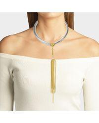 Aris Geldis - Multicolor Choker Necklace - Lyst