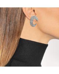 Helene Zubeldia - Multicolor Twisted Clip Earrings - Lyst