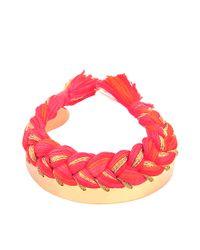 Aurelie Bidermann - Red Copacabana Bracelet - Lyst
