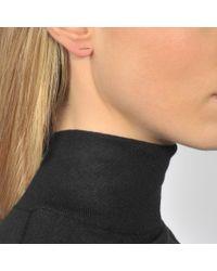 Ginette NY   Metallic Gold Strip Earrings   Lyst