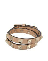Valentino - Multicolor Rockstud Choker And Double Bracelet - Lyst