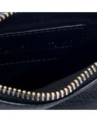 Zadig & Voltaire - Rock Nano Metal Bag In Black Calfskin - Lyst