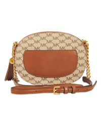 MICHAEL Michael Kors - Natural Ginny Medium Messenger Bag - Lyst