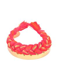 Aurelie Bidermann | Red Copacabana Bracelet | Lyst