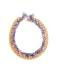 Aurelie Bidermann | Metallic Do Brasil Necklace | Lyst