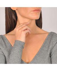 Ginette NY | Pink Mini Straw Diamond Ring | Lyst