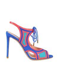 Nicholas Kirkwood | Blue Outliner Lace Up Sandal | Lyst