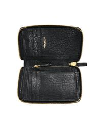Jérôme Dreyfuss - Black Julien Wallet In Bubble Lambskin - Lyst