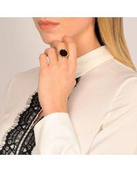 Ginette NY - Black Onyx Disc Ring - Lyst