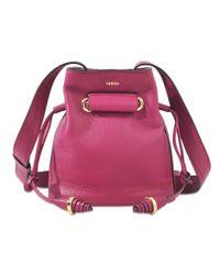 Lancel | Pink Huit Nano Bucket Bag | Lyst