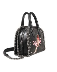 Stella McCartney - Black Falabella Box Mini Tote - Lyst