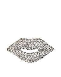 Sonia Rykiel | Multicolor Brooch Lips | Lyst