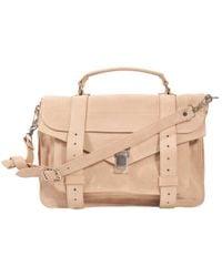 Proenza Schouler | Multicolor Ps1 Medium Suede Bag | Lyst