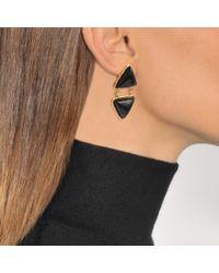 Sylvia Toledano - Black Triangles Earrings - Lyst