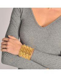 Sylvia Toledano | Metallic 4 Row Stone Massai Cuff | Lyst