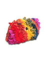 Anya Hindmarch - Multicolor Crossbody Creeper Bag In Chunky Wool - Lyst