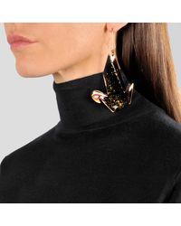 Stella McCartney | Black Earring Origami | Lyst