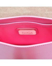 Furla - Pink Metropolis Mini Crossbody Bag - Lyst